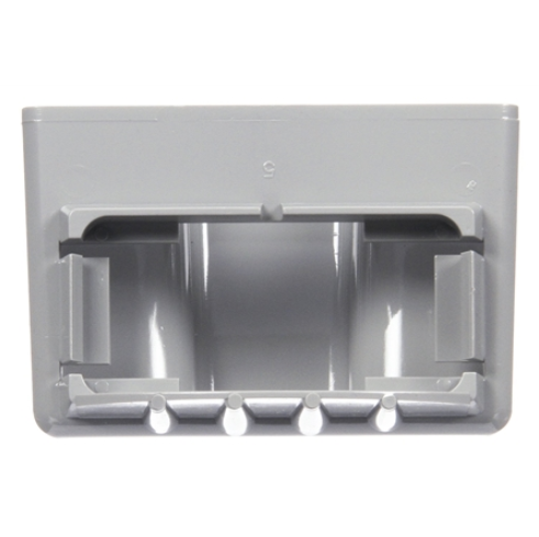 "15 Series White 1"" X 2"" Bracket for Rectangular Lights, 2 Screw Bracket Mount 