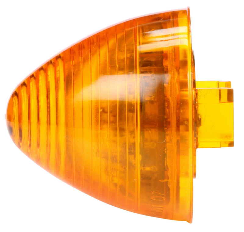 "30 Series Yellow LED 2"" Beehive Marker Clearance Light, Fit 'N Forget M/C & Grommet Mount 