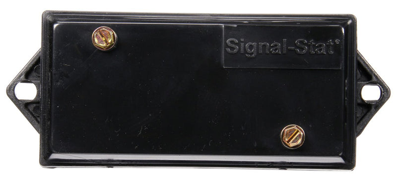 Signal-Stat Black Plastic Junction Box w/ Surface Mount, 7 Port & 7 Terminal | Truck-Lite 3121