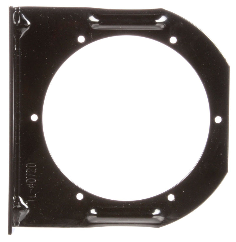 "40 Series 4"" Black Steel Round 2 Screw Bracket Mount for 4"" Lights 