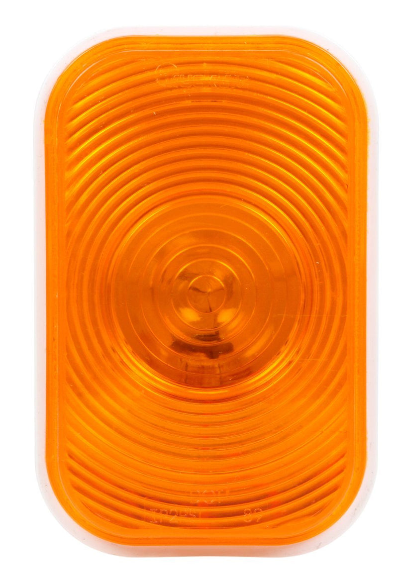 "Super 45 Yellow Incandescent 3""x5"" Rear Turn Signal, PL-3 