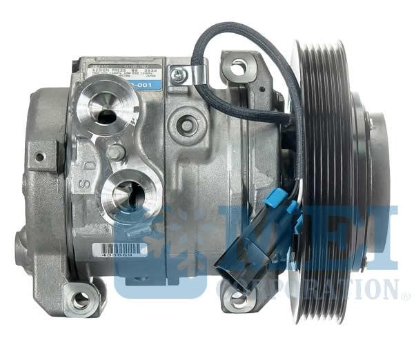 Denso 10S15C AC Compressor for Freightliner Trucks, 2 Wire Metripak | Air Source/MEI 51416