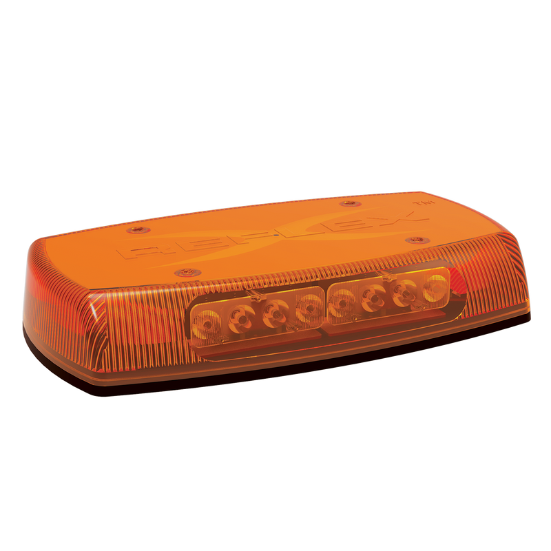 "15"" Reflex Permanent Mount Amber Mini Lightbar 