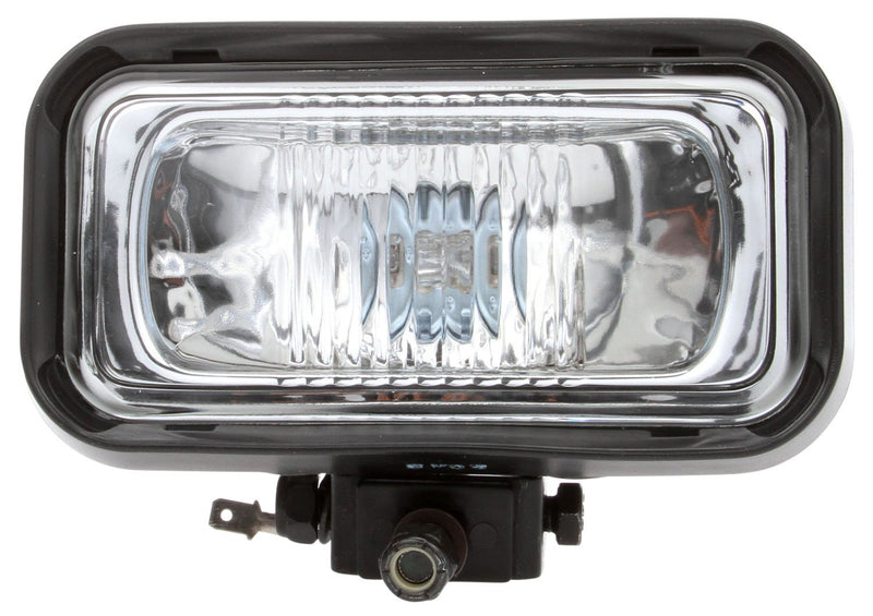"Signal-Stat Heavy Duty Clear Incandescent 3""x5"" Driving Light, Hardwired 