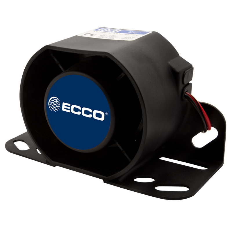 Tonal 2 Bolt/BracketMount Back Up Alarm, 112 dB(A) | ECCO 876N