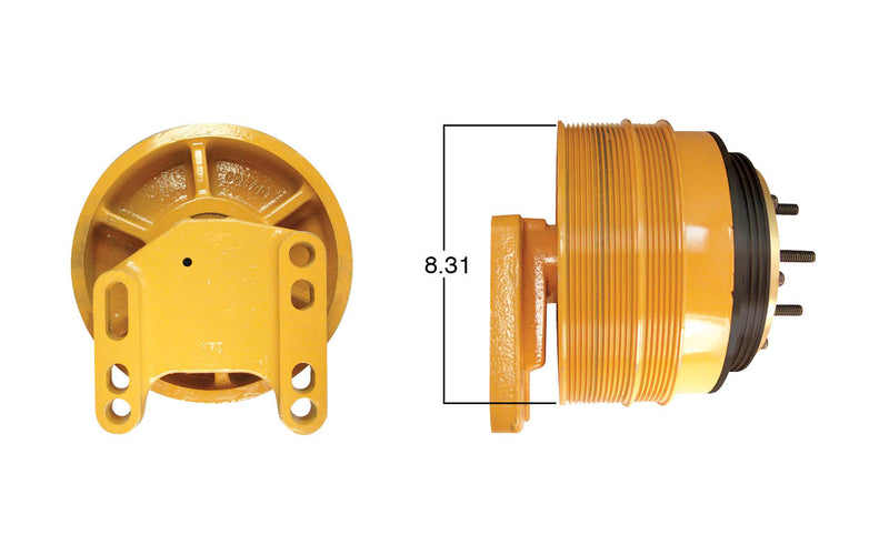 Fan Clutch Assembly for Caterpillar C15, Remanfuactured | Kit Masters 99809