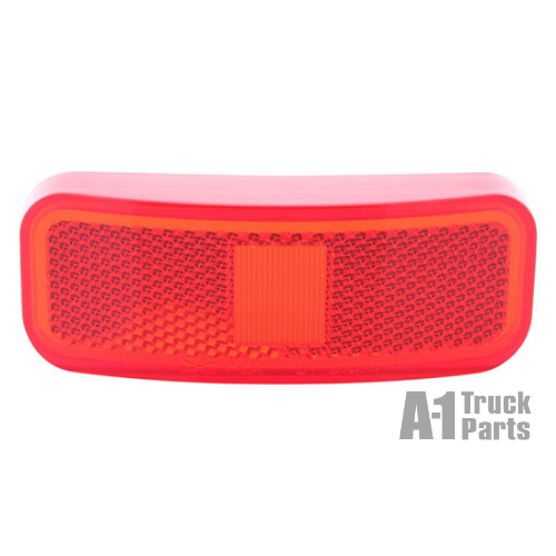 Rectangular Red Replacement Lens for MC/MCL44 Light | Optronics A44RBP