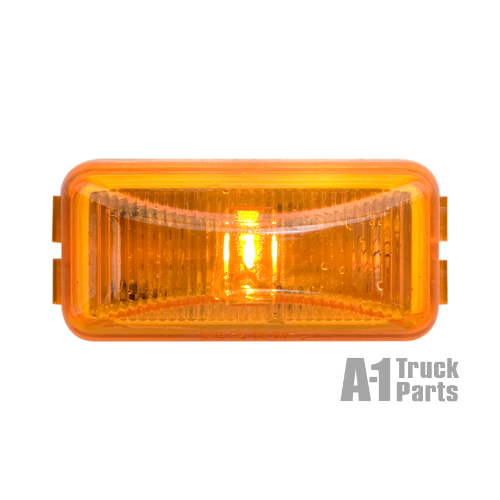 Snap-In Yellow Marker/Clearance Light with PL-10 Connection, 12V | Optronics AL90AB