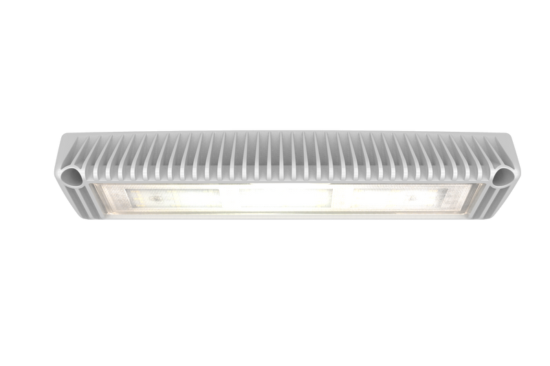 White Rectangular 27 LED Worklight, 40° Down Angled | ECCO EW2601W