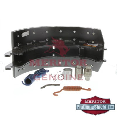 "Service Brake Shoe and Lining Kit for 16.5"" & 7"" Q Brakes 