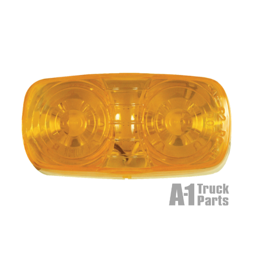 10 LED Oblong Yellow Marker/Clearance Light, 12V | Optronics MCL46AB