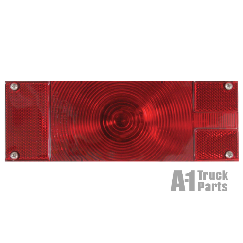 Red Incandescent Waterproof Low Profile Combo Tail Light, Passenger Side | Optronics ST16RB