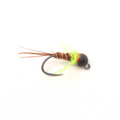 French Dip - Chartreuse - Black Bead