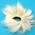 Arctic Fox Tail Medallions