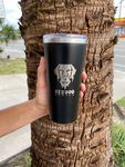 Melty Dog Tumbler 16OZ | Matte Black