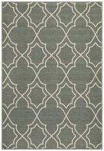 Load image into Gallery viewer, Alfresco Indoor Outdoor Collection 6510 Teal Rug