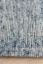 Load image into Gallery viewer, Allure Indigo Cotton Rayon Rug