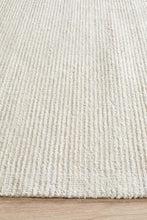 Load image into Gallery viewer, Allure Ivory Cotton Rayon Rug