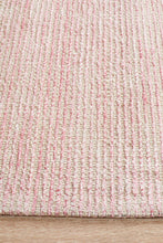 Load image into Gallery viewer, Allure Rose Cotton Rayon Rug