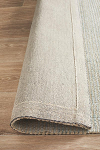 Allure Sky Cotton Rayon Rug