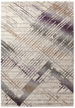 Load image into Gallery viewer, Aspect Riverside Jagged Aubergine Rug