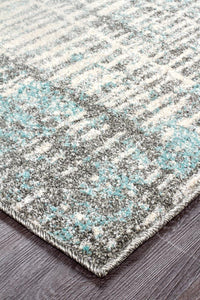 Aspect Riverside Sticks Blue Rug