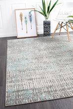 Load image into Gallery viewer, Aspect Riverside Sticks Blue Rug