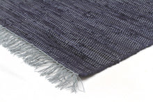 Load image into Gallery viewer, Atrium Mina Stunning Cotton Rug Navy