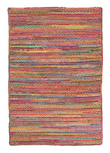 Load image into Gallery viewer, Atrium Expo Jute And Cotton Rug Multi