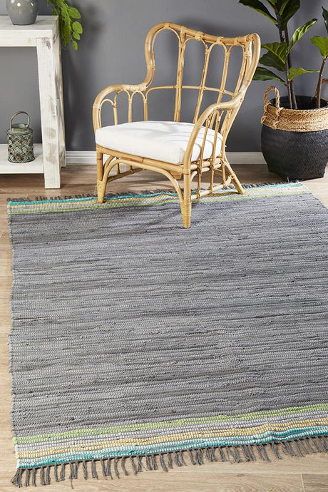 Atrium Boho Whimsical Rug Rock