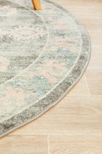 Load image into Gallery viewer, Avenue 701 Grey Round Rug