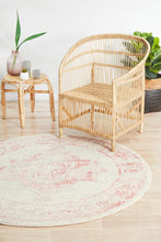 Load image into Gallery viewer, Avenue 702 Rose Round Rug