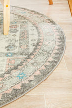 Load image into Gallery viewer, Avenue 704 Silver Round Rug