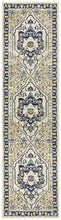 Load image into Gallery viewer, Babylon 201 Navy Runner Rug