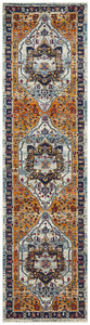 Babylon 201 Rust Runner Rug