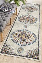 Load image into Gallery viewer, Babylon 202 White Runner Rug