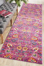 Load image into Gallery viewer, Babylon 210 Fuchsia  Runner Rug