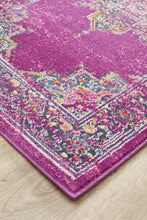 Load image into Gallery viewer, Babylon 211 Fuchsia  Runner Rug