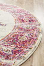 Load image into Gallery viewer, Babylon 211 Pink  Round Rug