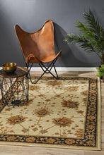 Load image into Gallery viewer, Byblos Classic Chobi Design Ivory Rug