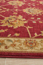 Load image into Gallery viewer, Byblos Classic Chobi Design Red Rug