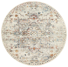 Load image into Gallery viewer, Century 911 Silver Round Rug