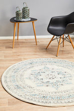 Load image into Gallery viewer, Century 922 White Round Rug
