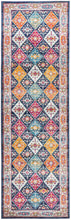 Load image into Gallery viewer, Century 933 Navy Runner Rug
