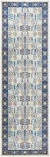 Load image into Gallery viewer, Century 988 Blue Runner Rug