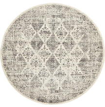 Load image into Gallery viewer, Century 999 Grey Round Rug