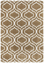 Load image into Gallery viewer, City Modern Trelliss design Rug Ash