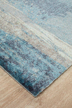 Load image into Gallery viewer, City Monet Stunning Blue Runner Rug