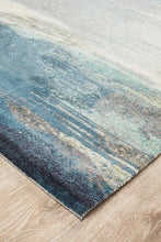 Load image into Gallery viewer, City Monet Stunning Blue Rug