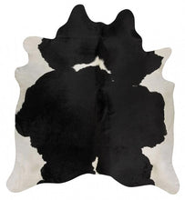 Load image into Gallery viewer, Exquisite Natural Cow Hide Black White